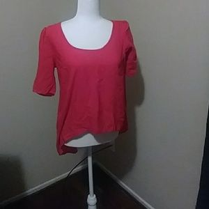 Tops - Pink and black shirt